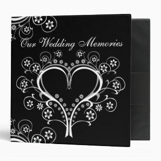 Listen to my Heart  Wedding Binders