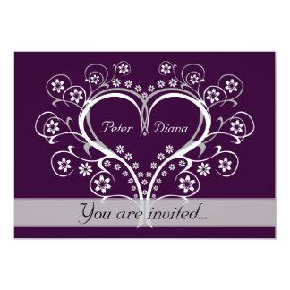 Listen to My Heart Wedding Invitations