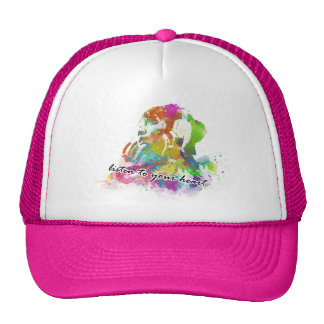 Listen to Nature/Listen to your heart T-SHIRT Trucker Hat