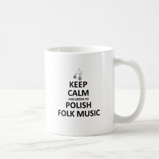 Listen to Polish folk music Coffee Mug