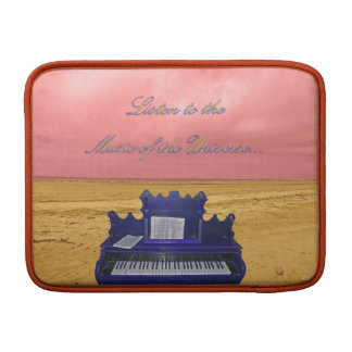 Listen to the Music of the Universe Digital Art MacBook Sleeve