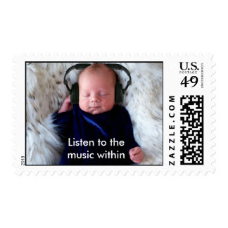 Listen to the music within stamps