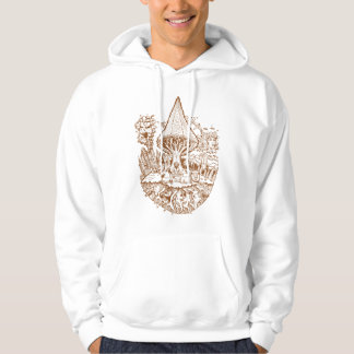 Listen to the Roots Brown Ink Hoodie