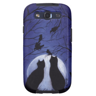 Listen to the Silence at Night Galaxy S3 Cover