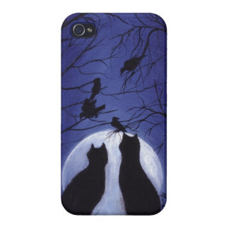 Listen to the Silence at Night iPhone 4/4S Cover