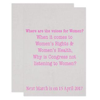 Listen to Women (2017) Card
