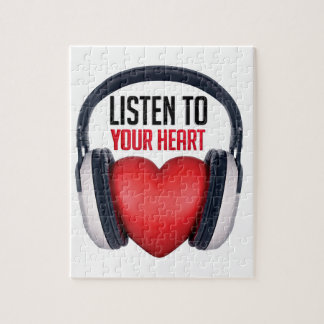 Listen to Your Heart Jigsaw Puzzle