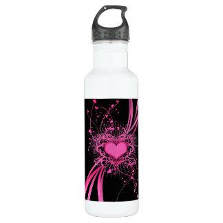 Listen to your heart 24oz water bottle