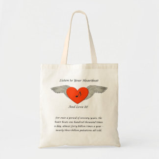 Listen to Your Heartbeat Bag