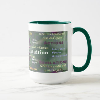 Listen to Your Intuition cup