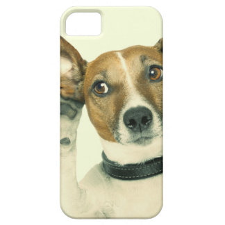 Listen Up Pup Dog Photo iPhone SE/5/5s Case
