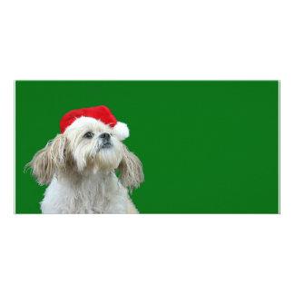 Listening for Santa Card