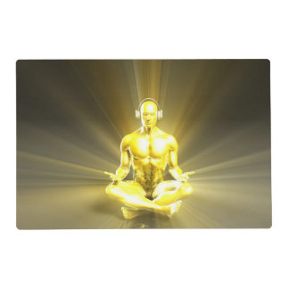 Listening to Music and Reaching a Calm Zen State Placemat