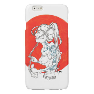 Listening To The Voices Inside My Head Glossy iPhone 6 Case
