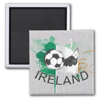 Listón del fútbol del fútbol de Irlanda y del fútb Imanes