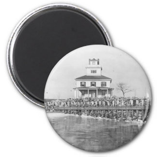 Liston Range Front Lighthouse 2 Inch Round Magnet