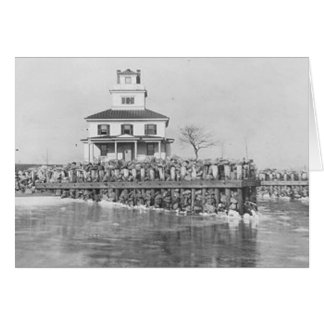 Liston Range Front Lighthouse Card