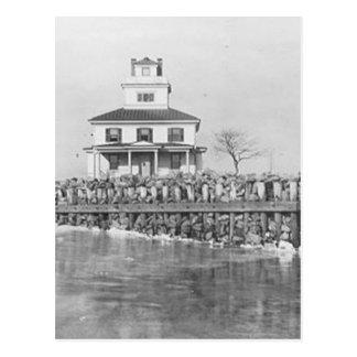 Liston Range Front Lighthouse Postcard