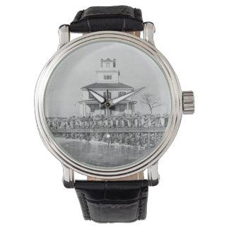 Liston Range Front Lighthouse Wrist Watch