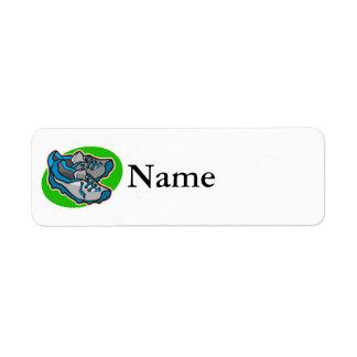 listones etiquetas de remite