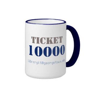 LIT 10K Ticket Ringer Coffee Mug