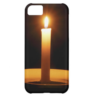 Lit Candle on Black.jpg iPhone 5C Case