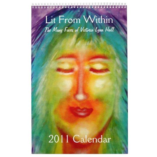 """Lit From Within"" Victoria Lynn Hall Art Calendar"