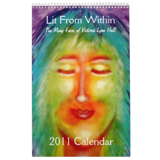 """Lit From Within"" Victoria Lynn Hall Art Calendar"