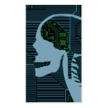 lit logicskull Double-Sided standard business cards (Pack of 100)