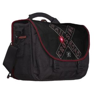 Lit Neon Sign Commuter Bag