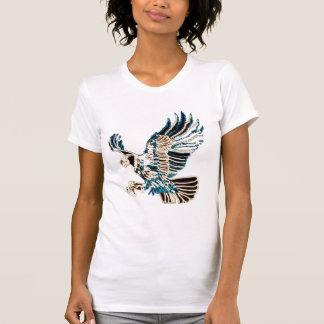 Lit Up Eagle T-shirts