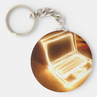 Lit up Laptop Keychain