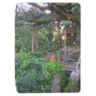 Lit Up Tree House iPad Cover