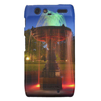 Lit Water Fountain Droid RAZR Cover