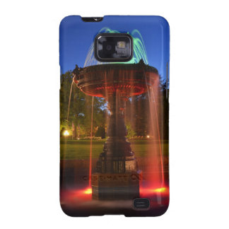 Lit Water Fountain Galaxy S2 Cover