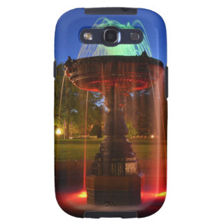 Lit Water Fountain Galaxy SIII Covers