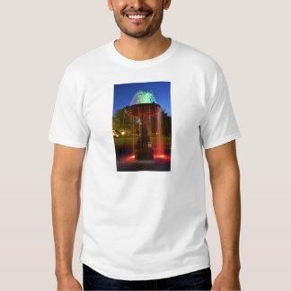 Lit Water Fountain Tee Shirts