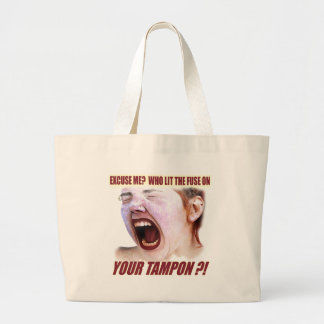 Lit Your Tampon Funny T-shirts Gifts Canvas Bag