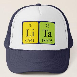 Lita periodic table name hat