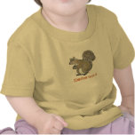 Lita precioso - ardilla divertida camiseta
