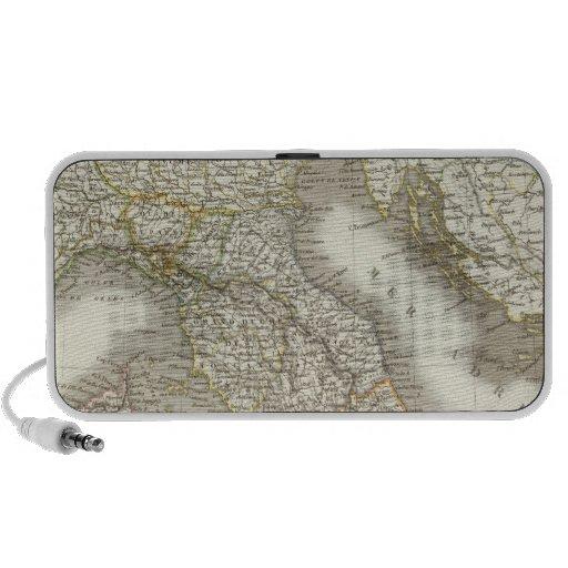 L'Italie - mapa de Italia iPhone Altavoces