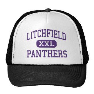 Litchfield - panteras - alto - Litchfield Illinois Gorro