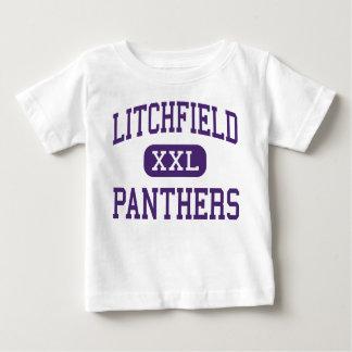 Litchfield - panteras - alto - Litchfield Illinois Playera