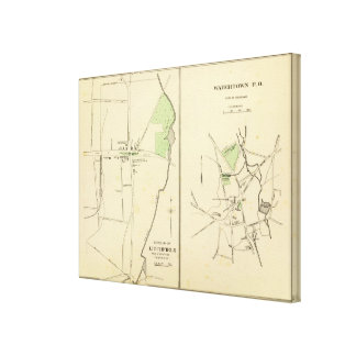 Litchfield, Watertown Canvas Print