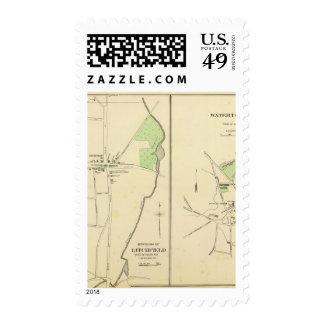 Litchfield, Watertown Postage Stamp