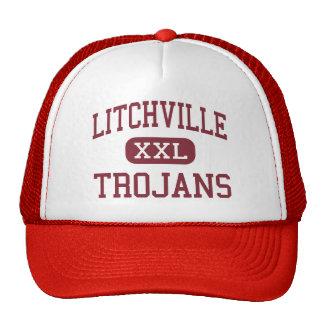 Litchville - Trojans - High - Litchville Trucker Hats