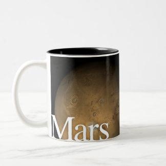 LITD Planet Mug: Mars Two-Tone Coffee Mug