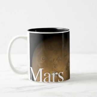 LITD Planet Mug: Mars Two-Tone Coffee Mug