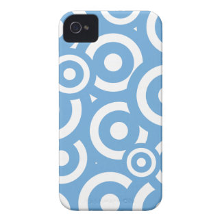 Lite Blue Circles patterm iPhone 4/4s iPhone 4 Cover