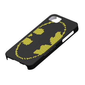Lite-Brite Bat Emblem iPhone 5 Covers
